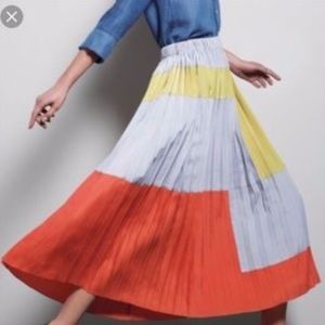 Anthropologie Tabitha Field of Vision Maxi Pleat 6